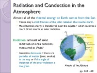 Insolation Earth Science Energy Worksheets. Insolation ...