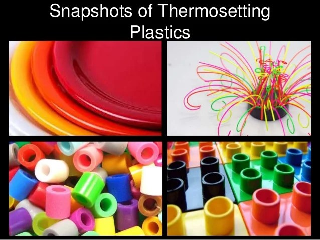 Image result for thermosetting plastics