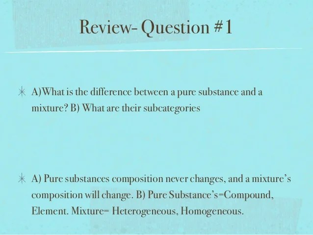 Are Physical Chemical And How And Used Substance Are What They Changes