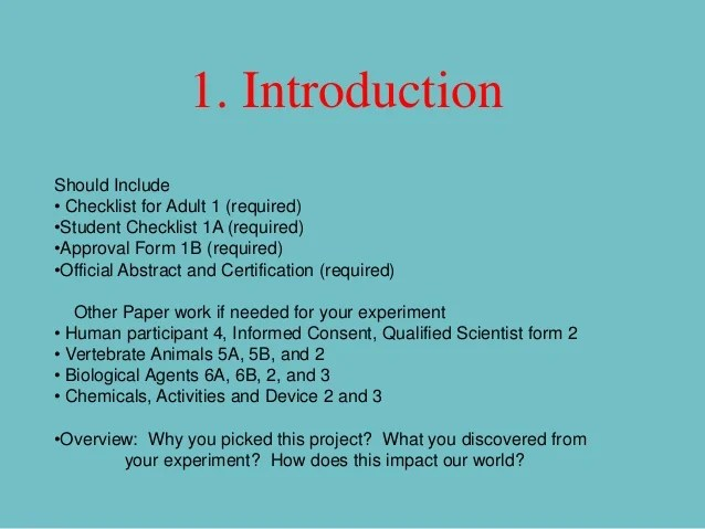Science Fair Powerpoint 2012
