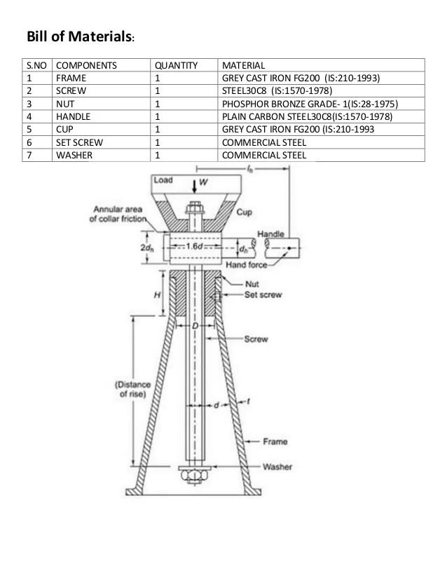 Bottle Jack Parts Diagram