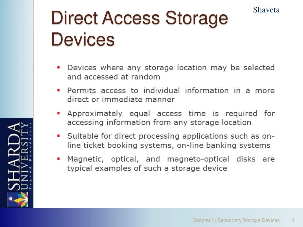 Secondary Storage Devices By Neeraj Bhandari Surkhetpal