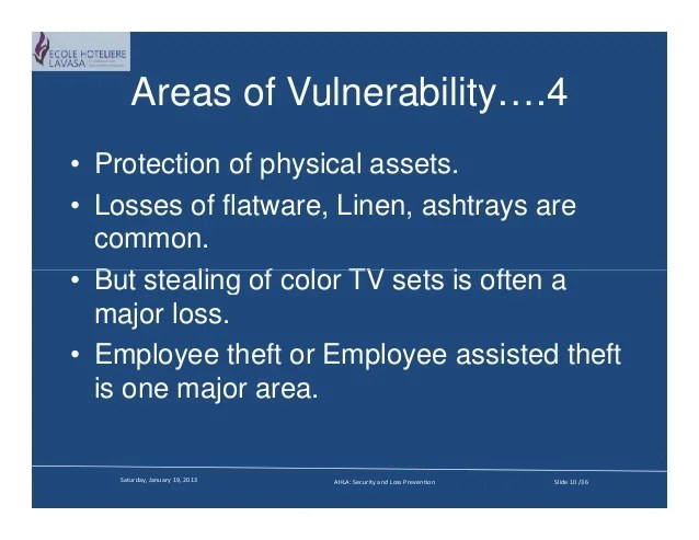 Security And The Lodging Industry Compatibility Mode