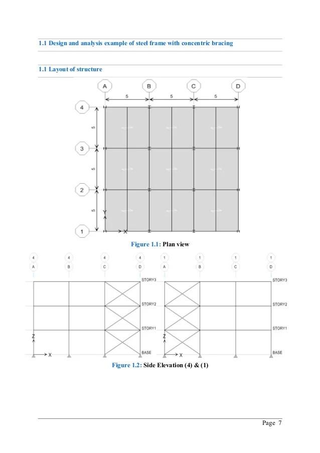 Steel Braced Frame Design Example | Fachriframe co