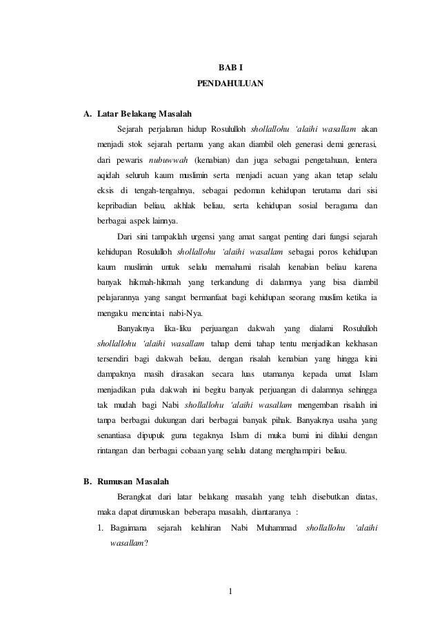 Latar Belakang Nabi Muhammad : latar, belakang, muhammad, Sejarah, Peradaban, Islam, Muhammad