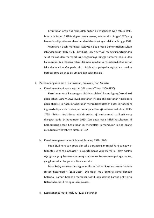 Sejarah Singkat Kerajaan Islam Di Indonesia : sejarah, singkat, kerajaan, islam, indonesia, Sejarah, Singkat, Masuknya, Islam, Indonesia
