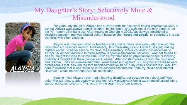 Selective mutism[1]