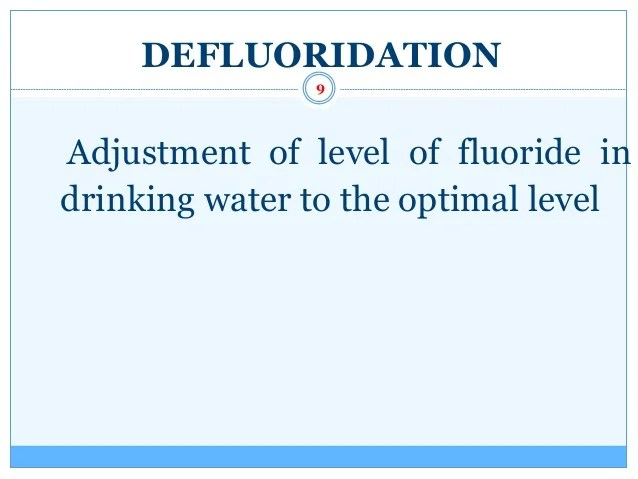 Drinking Water Filtration System