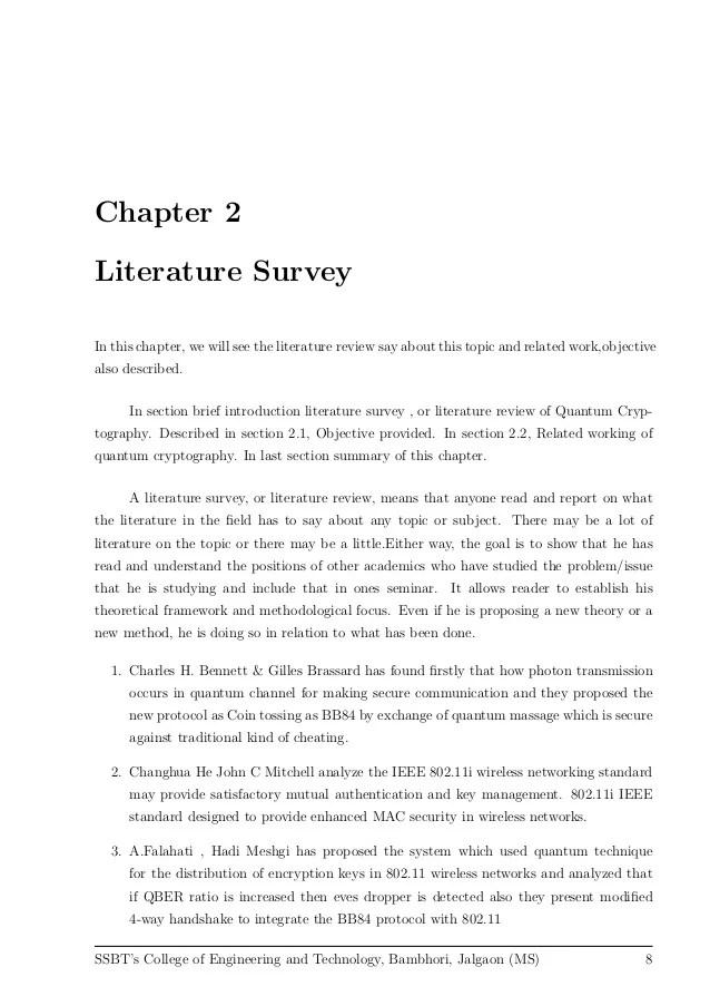 Seminar Report On Quantum Key Distribution