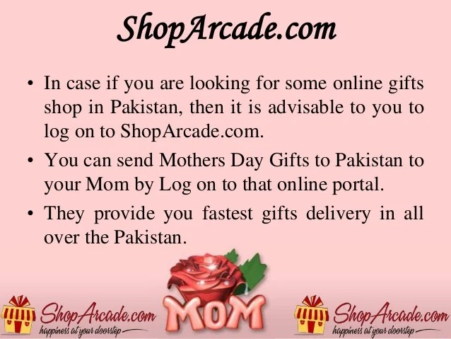 Send Mother S Day Gifts To Your Lovely Mom