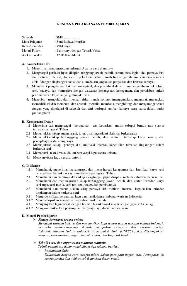 Rpp Seni Budaya Smp Kelas 7 8 9 Kurikulum 2013 : budaya, kelas, kurikulum, Budaya, Kelas, Bagikan, Cute766
