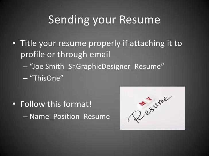 joe smith sample resume