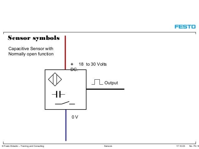 photo eye wiring schematic symbol