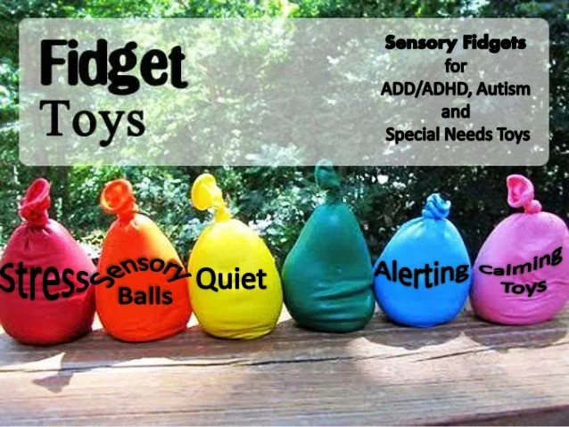 Sensory Fidget Toys For Add Adhd Austim Special Needs