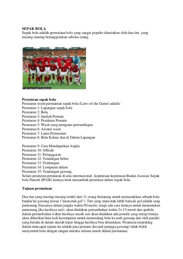 Lama Permainan Sepak Bola Adalah : permainan, sepak, adalah, Sepak