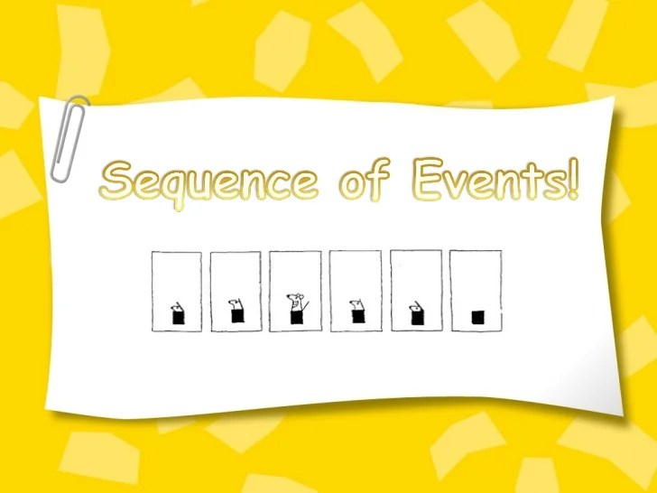 Sequence Of Events 1