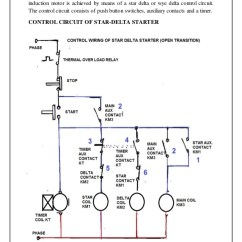 Plc Star Delta Starter Wiring Diagram Browning A5 Parts Service Industry Internship 2016 Report Traning 9 8 Page Controlling The Interchanging Connection And