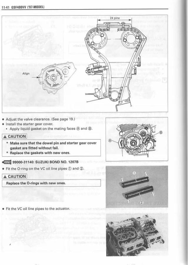 suzuki bandit 1200 wiring diagram 3 phase dol starter manual de reparación gsf vv '97