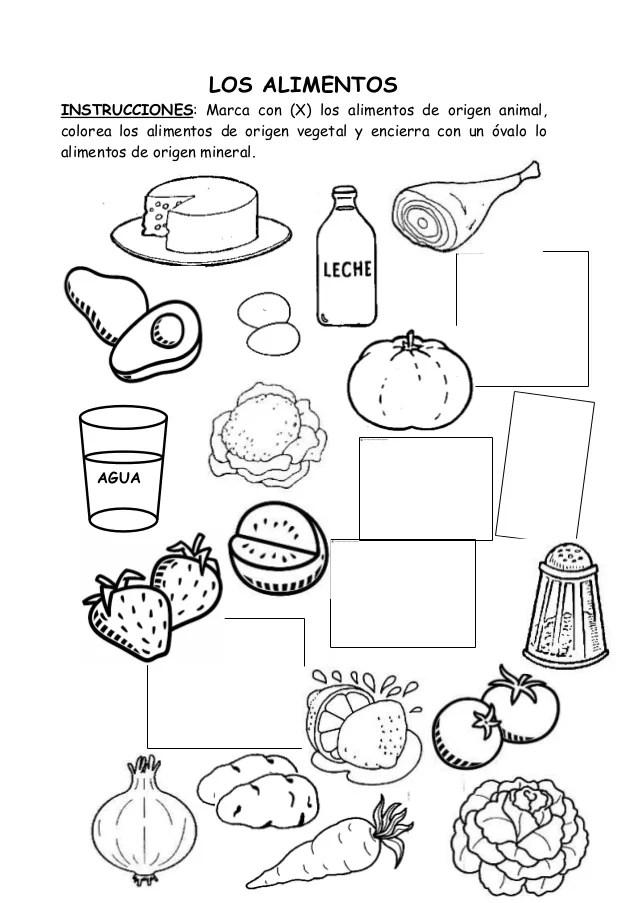 Imagen De Un Mercado Para Colorear En Dibujos Animados