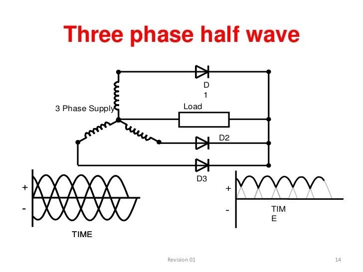 threephase full wave bridge rectifier circuit diagram electronic