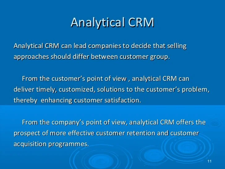Session 3.crm strategy analytical