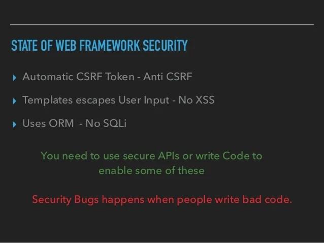 Xss Csrf Security Web