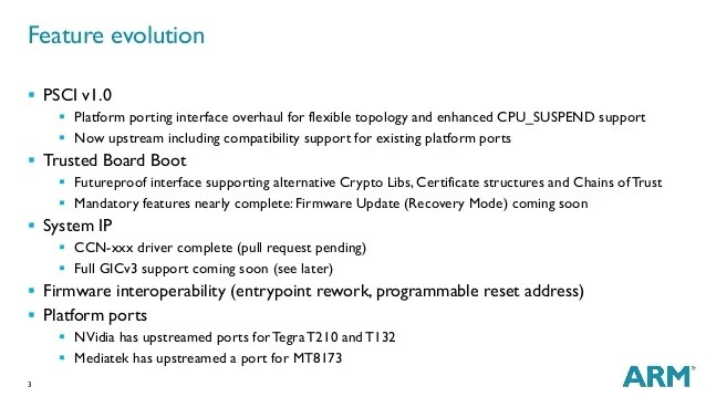 Sfo15 101 Security Requirements On Armv8 A Boot Architecture