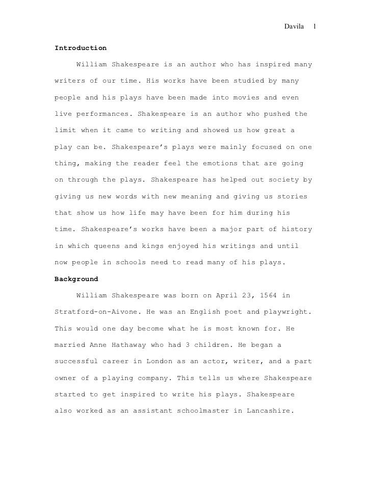 Essay On William Shakespeare Hospi Noiseworks Co