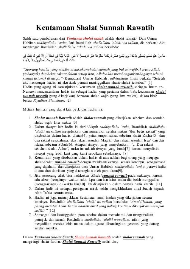 Waktu Sholat Wajib dan Sunnah Paling Lengkap | Bimbingan Islam