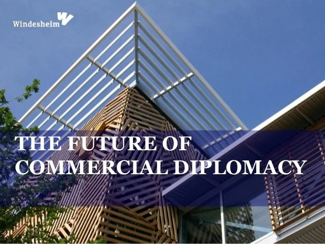 Image result for Commercial Diplomacy