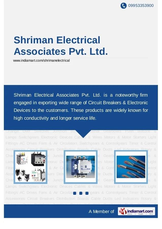 Shriman Electrical Associates Pvt Ltd, Navi Mumbai