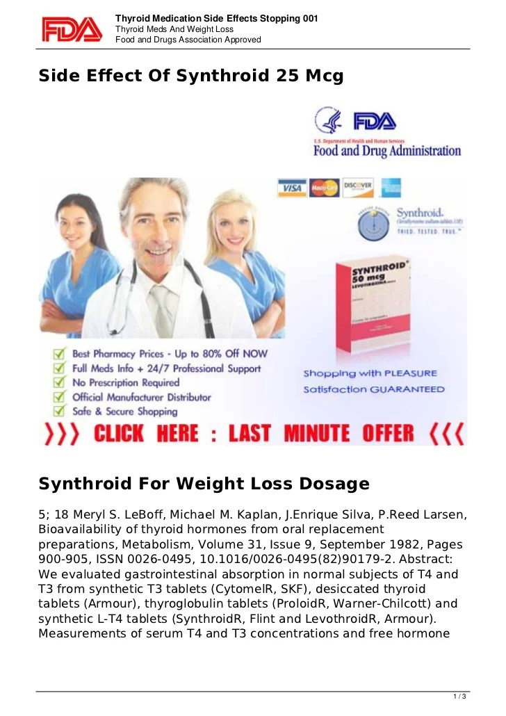 Side effects-of-thyroxine-supplements-1990