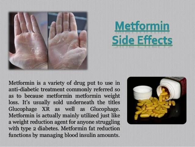 Side Effects Of Metformin