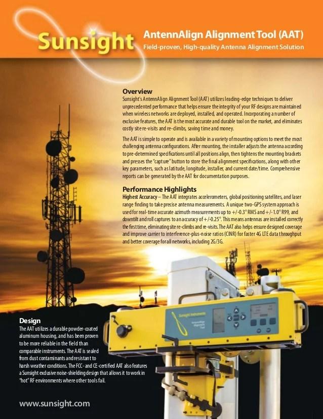 aat antenna alignment tool brochure