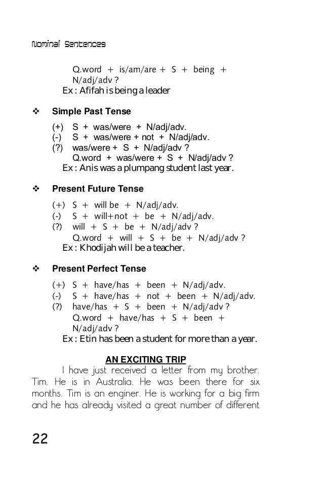 Contoh Soal Simple Present Tense Nominal Dan Verbal : contoh, simple, present, tense, nominal, verbal, Tense, Bahasa, Inggris, Dengan, Contoh, Kalimat, Nominal, Verbal, Grammatical, Style, Cute766