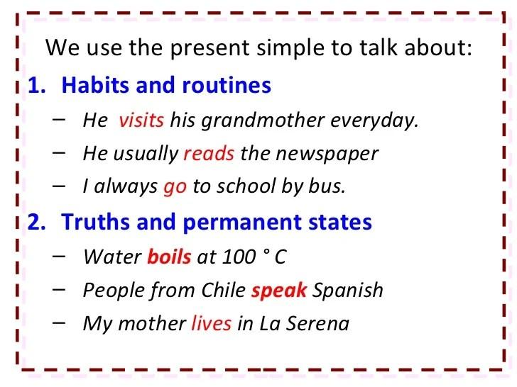 (aku dulu belajar bahasa prancis. Contoh Kalimat Simple Present Tense Positive Negative