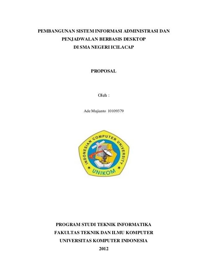 Contoh Proposal Skripsi Sistem Informasi Geografis Berbagi Contoh Proposal Cute766