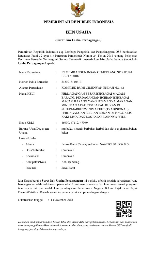 Macam Macam Usaha Perdagangan : macam, usaha, perdagangan, 08170009168, Surat, Usaha, Perdagangan, MICS1