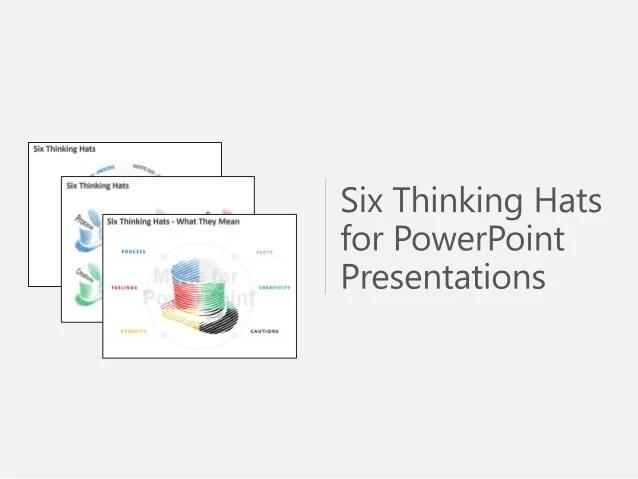 Six Thinking Hats PowerPoint Presentations