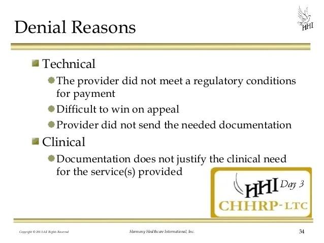 Skilled Rehab Services: Avoiding Denied Claims