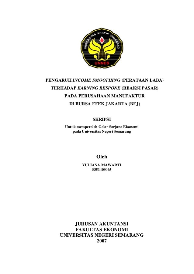 Skripsi Akuntansi Sektor Publik Kualitatif Ide Judul Cute766
