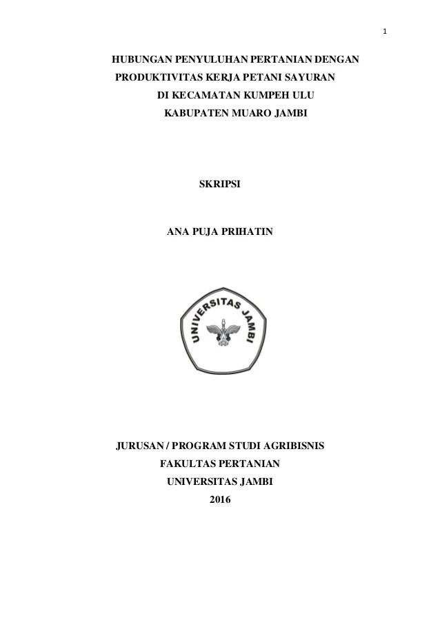 Judul Skripsi Agribisnis : judul, skripsi, agribisnis, Contoh, Judul, Skripsi, Kualitatif, Lapangan