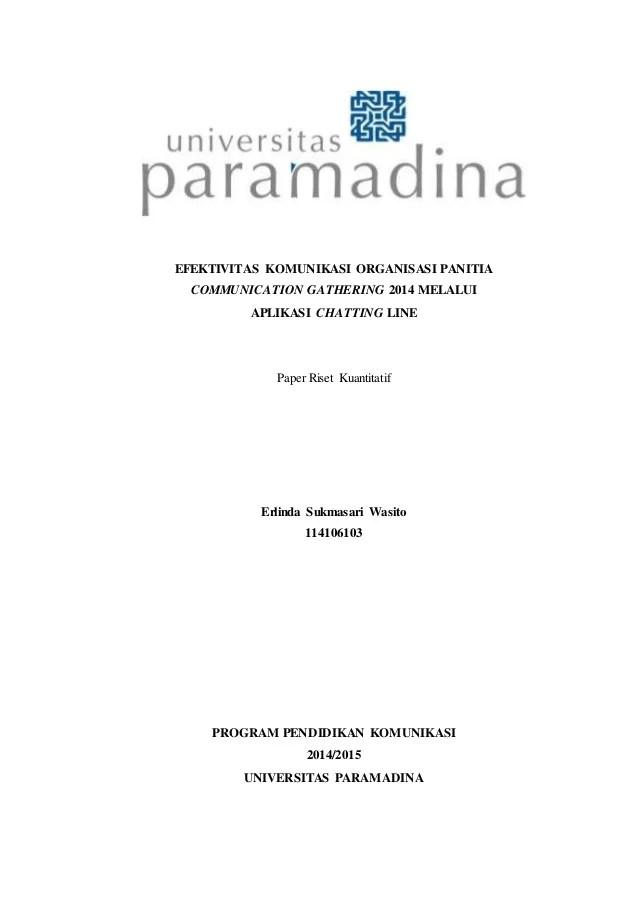 Contoh Proposal Penelitian Kuantitatif Komunikasi : contoh, proposal, penelitian, kuantitatif, komunikasi, Skripsi, Kuantitatif, EFEKTIVITAS, KOMUNIKASI, ORGANISASI, PANITIA