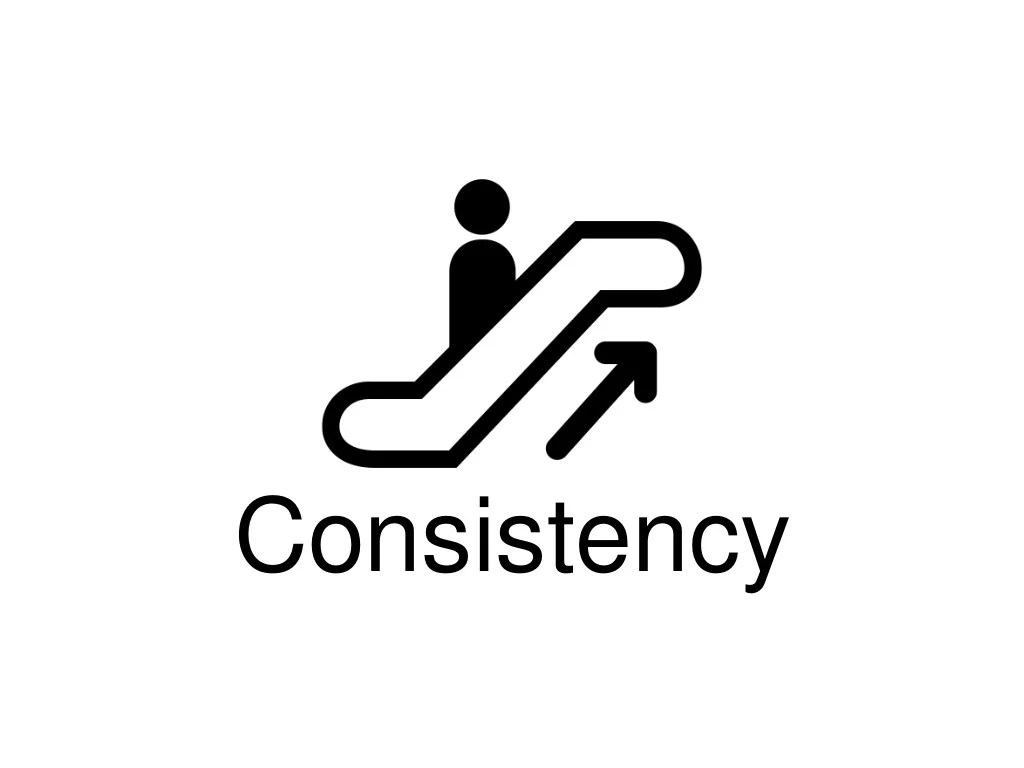 Our bodies loveconsistency