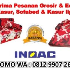 Sofa Bed Kasur Busa Lipat Inoac Jakarta Blair Leather Promo Wa 0812 9907 2665 Agen Utara Sofabed 11