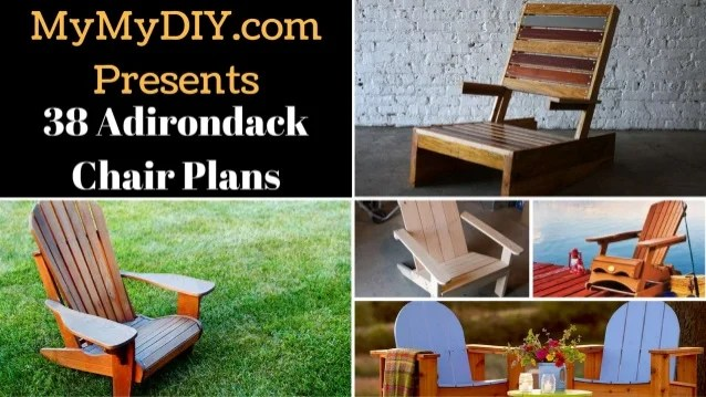 diy adirondack chair plans wooden wicker chairs 38