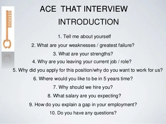 The Top 10 Asked Interview Questions How To Answer