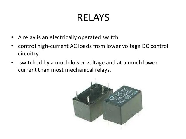 Temperature Sensor Circuit Temperature Sensor Relay