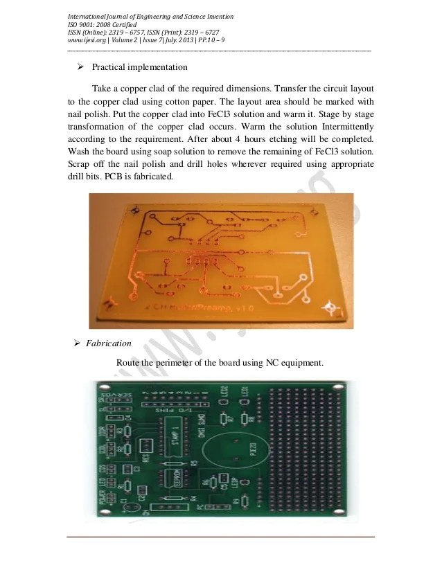 Tishitu Printed Circuit Board Pcb Etching Process By Fecl3 Laser