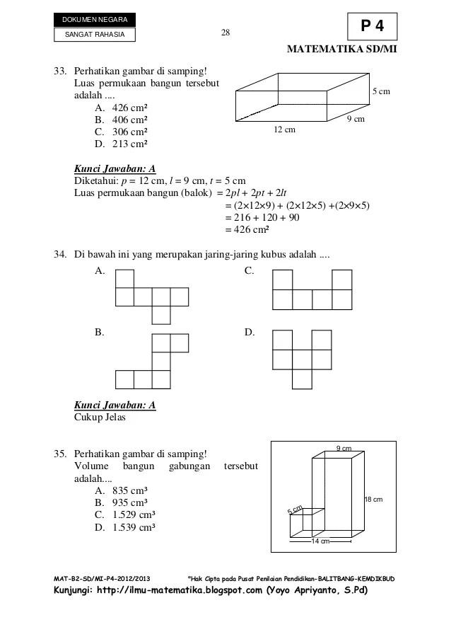 Contoh Soal Jaring-jaring Kubus Dan Balok Kelas 5 Sd : contoh, jaring-jaring, kubus, balok, kelas, Matematika, Kelas, Jaring, Kubus, Balok, Cute766
